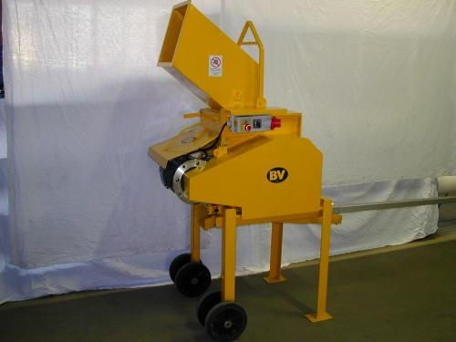 Jaw Crusher for rubble, debris from construction sites